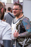 Participants at 10-th International Tattoo Convention in Congress-EXPO Center Royalty Free Stock Photography