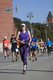 Participants of 5th Moscow Marathon Royalty Free Stock Photos