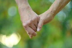 Participation pluse âgé de couples Photo libre de droits