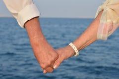 Participation pluse âgé de couples Image stock