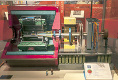 Particle accelerator at CERN Royalty Free Stock Image