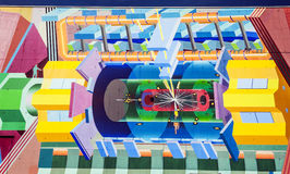Particle accelerator at CERN Stock Photos