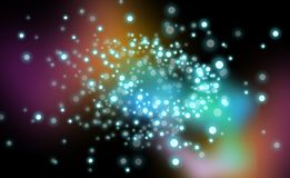 Particle background Royalty Free Stock Photo