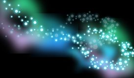 Particle background Stock Image