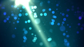 Particle Background. A colorful computer generated background Stock Photos