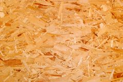 Particle board. Particle wood board patterned background Stock Photos