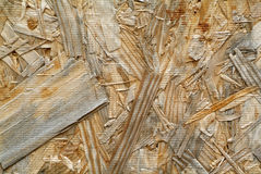 Particle board textured background Stock Photography