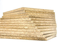 Particle board wood Stock Images