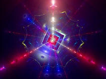 Particle collision Stock Images
