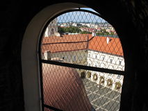 Particle Old Vilnius Royalty Free Stock Images