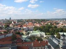 Particle Old Vilnius Stock Images