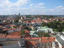 Particle Old Vilnius Royalty Free Stock Photos