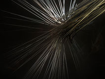 Particle trails Stock Images