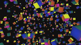 Particles Animation Royalty Free Stock Image