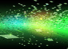 Particles background Royalty Free Stock Photography
