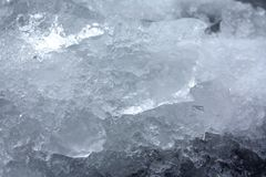 Particles of ice Stock Images