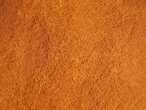 Particolare al suolo rosso, Roussilon, Francia. Immagine Stock