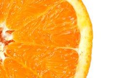 Particolare arancione della fetta Immagine Stock