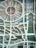 Particolare architettonico del reticolo Fotografie Stock Libere da Diritti