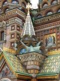 Particolare architettonico della cattedrale del basilico della st Immagini Stock Libere da Diritti
