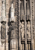 Particolare architettonico della chiesa Fotografie Stock