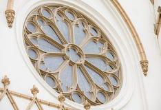 Particolare architettonico della chiesa Fotografie Stock Libere da Diritti