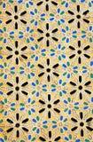 Particolare architettonico marocchino fotografia stock