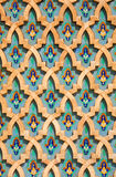Particolare architettonico marocchino immagini stock