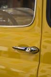 Particolare classico dell'automobile Fotografia Stock
