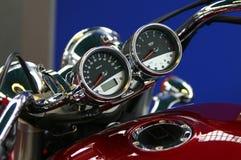 Particolare classico della bici Fotografia Stock