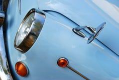 Particolare d'angolo fronte di Fiat 600 Fotografia Stock Libera da Diritti