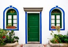 Particolare dalle vie in Mogan, Gran Canaria Immagine Stock
