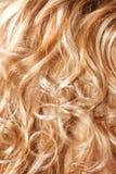 Particolare dei capelli Fotografia Stock Libera da Diritti