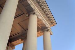 Particolare dei capitali dello Stato della Virginia fotografia stock