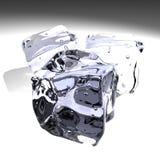 Particolare dei cubi di ghiaccio Fotografie Stock Libere da Diritti