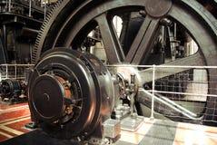 Particolare dei generatori di energia fotografia stock