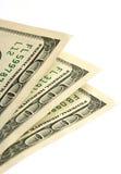 Particolare dei soldi Fotografia Stock