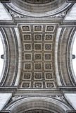 Particolare del Arc de Triomphe Fotografia Stock Libera da Diritti