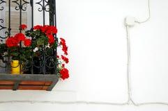 Particolare del balcone Fotografia Stock Libera da Diritti