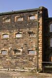 Particolare del blocchetto della prigione del Victorian Fotografie Stock