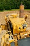 Particolare del bulldozer Immagine Stock Libera da Diritti
