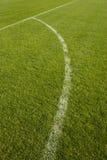 Particolare del campo di calcio Immagine Stock Libera da Diritti
