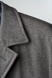 Particolare del cappotto fotografie stock