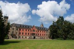 Particolare del castello di Sychrov vicino a Liberec Fotografia Stock Libera da Diritti