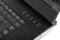 Particolare del computer portatile Fotografia Stock Libera da Diritti