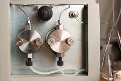 Particolare del cromatografo di sec Fotografia Stock