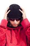 Particolare del danzatore di Hip Hop Fotografia Stock Libera da Diritti