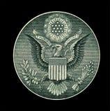 Particolare del dollaro Fotografie Stock Libere da Diritti