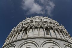 Particolare del duomo Santa Maria, Pisa Fotografie Stock