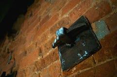 Particolare del ferro saldato Fotografie Stock